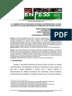 Andrade et al. O carrefour da expansão do ensino superior sob a lógica do capital e suas inflexões na formação em serviço social