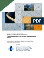 Sécurité des ouvrages d'accumulation _ Directive pour la vérification au séisme
