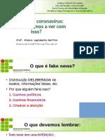 Apresentação fake news