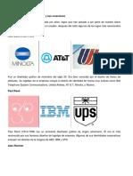 Famosos diseñadores de logos y sus creaciones