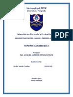 Ejemplo de Reporte academico 2 Banco ASG