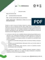CIRCULAR GUÍAS DIDÁCTICAS JUNIO Y JULIO 2020
