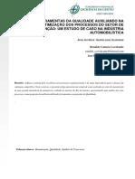 FERRAMENTAS DA QUALIDADE AUXILIANDO NA OTIMIZAÇÃO DOS PROCESSOS DO SETOR DE MANUTENÇÃO; UM ESTUDO DE CASO NA INDÚSTRIA AUTOMOBILÍSTICA.pdf