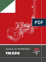 Manual Perfuratriz CZM TM200