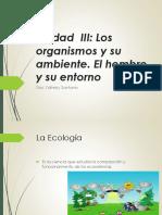 UNIDAD 3.1 Los organismos y su ambiente (1)