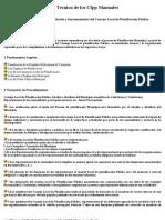 procedimiento de instalación y funcionamiento del concejo local de planificación publica
