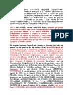 jurisprudencia nulidad cambio regimen pensional a ahorro individual recurso queja