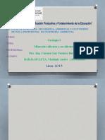 Minerales silicatados y no silicatados 1
