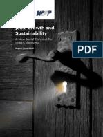 CEEW-NIPFP-Jobs, Growth-and-Sustainability study 11Jun20