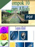 PPT Qmia KhoirLogam Alkali