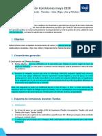 Políticas- de Comisiones -Tiendas Mayo 2020