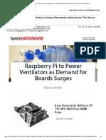 Gmail - Raspberry Pi to Power Ventilators _ Huawei Reportedly Ventures Into The Server GPU Market