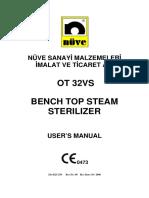 OT 32VS-USER MANUAL