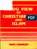 Hindu View of Christianity and Islam