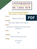 POLARIDAD DEL TRANSFORMADOR MONOFASICO PDF