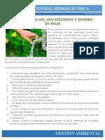 2. Uso eficiente de agua