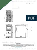 INVERSOR CFW300A07P3S2NB20 _ Inversor de Frequência CFW300 _ Micro e Mini Drives _ Inversores de Frequência _ Drives _ Automação e Controle Industrial _ WEG - Produtos