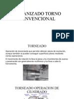 MECANIZADO TORNO CONVENCIONAL