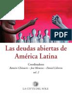 Deudas abiertas de américa latina - volumen 2