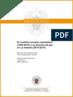 El conflicto armado colombiano y el proceso de paz en La Habana. Javier Carrillo..pdf