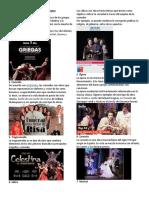 Los 18 tipos principales de obras de teatro