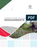 Informe Convenio Medioambiente