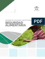 Informe Convenio Seguridad Alimentaria