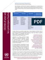 120103OOM - Humanitarian Principles - French