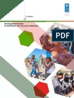 Rapport National sur le Développement Humain (RNDH) - Madagascar 2018 - Résumé