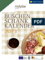 buschenschankkalender 2013