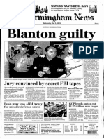 Thomas Blanton guilty verdict