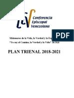PLAN TRIENAL DE LA CEV 2018