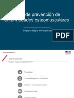 Taller de prevención de enfermedades osteomusculares (cargas y movimient...