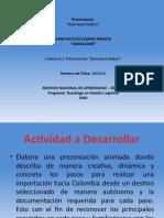 PRESENTACIÓN RUTA IMPORTADORA ALEIDA MARÍA VARGAS VEGA CC 23754583.pptx