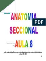 ANATOMIA SECCIONAL (AULA 8).