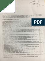 Dr. Dawn Emerick resignation letter to Metro Health