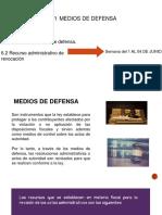 MEDIOS DE DEFENSA DEL 01 AL 04 DE JUNIO