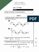 Soluções + cotações do Exame-Modelo 1