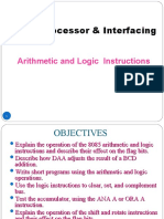 Chapter 2.2-Arithmetic and Logic  Instructions