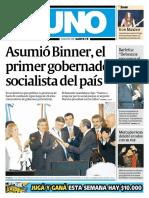 Asunción de Binner 12-12-2007