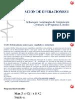 Unidad 2 - 09PL - Soluciones comparadas de formulación compacta