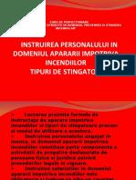 TIPURI DE STINGATOARE