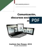 Comunicación, Discursos Sociales y Medios - Cuadernillo 2018.pdf