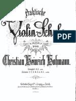 Hohmann Praktische Violinschule Completo