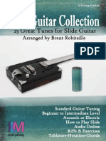 Slide Guitar Collection 25 Great Slide Tunes in Standard Tuning! - Brent Robitaille