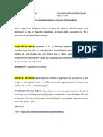 Actividades kinder Matematicas - lenguaje (lunes 30 de marzo - 3 Abril)