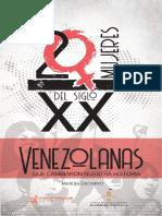 20 Mujeres Venezolanas Del Siglo XX