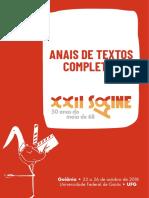 2018 A natureza do gesto do [no] cinema - corpos e instrumentos conjugados Anais Socine 2018