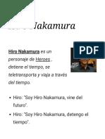 Hiro Nakamura citas