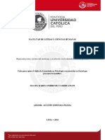 Representaciones sociales del mestizaje y su relación con la identidad nacional peruana
